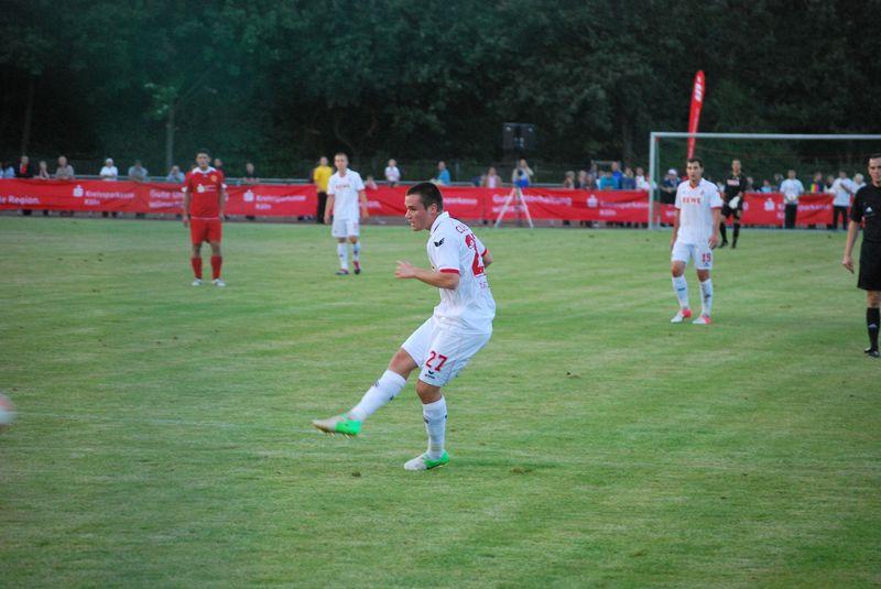Christian Clemens kam in der zweiten Halbzeit zum Einsatz, konnte aber kein Tor erzielen